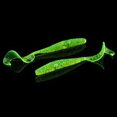 WALK FISH 10PCS/Lot Pesca Artificial Soft Lure Japan Shad Worm Swimbaits Jig Wobbler Head Fly Fishing Silicon Rubber Fish Lures