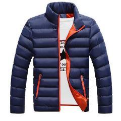 M-4XL 2019 New Winter Jackets Parka Men Autumn Winter Warm Outwear Brand Slim Mens Coats Casual Printed Jackets