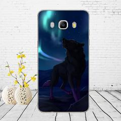Phone Case For Samsung Galaxy J5 2016 J510F Soft Silicone TPU Cartoon Protector Cover Cases For Samsung J5 2016 J510 Bumper
