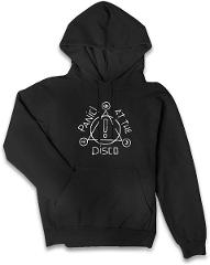 Panic! at The Disco Women's Hooded Sweater,Women's Cotton Sleeve Hooded Sweater,Hoodies for Women's